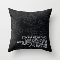 SKY'S THE LIMIT Throw Pillow by Good Sense