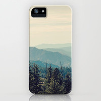 Yosemite Mountains iPhone Case by Laura Ruth