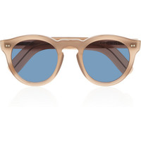 Cutler and Gross - Round-frame acetate and metal sunglasses