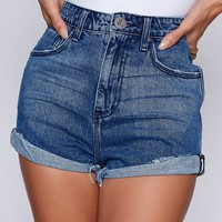 OneTeaspoon Pacifica High Waist Bandits
