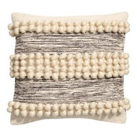 H&M Cushion Cover with Pompoms $29.99