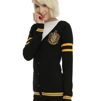 Harry Potter Hufflepuff Girls Cardigan