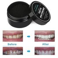 Teeth Whitening Scaling Powder Oral Hygiene Cleaning Packing Premium Activated Bamboo Charcoal Powder Food Grade