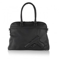Vlieger & Vandam Bags | Guardian Angel Soft Large Gun Black | Amsterdam