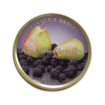 McKeever & Danlee Bon Bons Candy Tins - Pear & Blackberry: 6-Piece Box