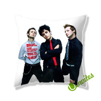 Green Day (2) Square Pillow Cover