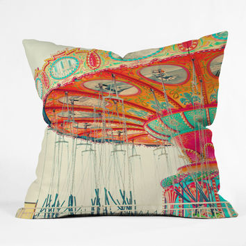 Shannon Clark Swinging Throw Pillow