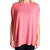 Pink Piko Short Sleeve Top