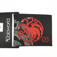 Game Of Thrones Fire and Blood Targaryen Wallet