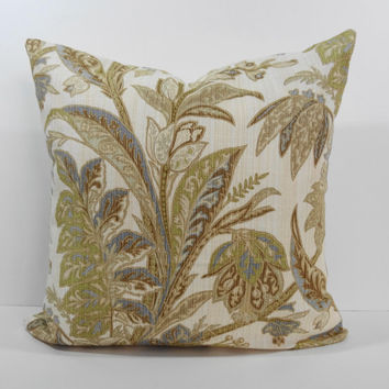 Tommy Bahama Designer Pillow Cover, Decorative Throw Pillow Cushion, 20 x 20
