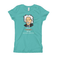 It's a science thing - Einstein - Girl's T-Shirt