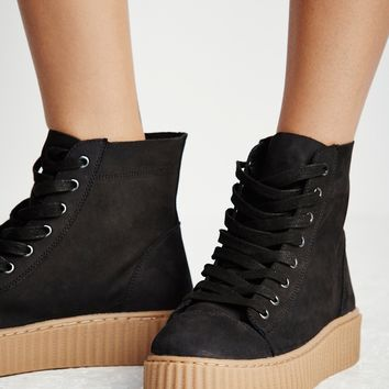 Free People Riva Lace Up Sneaker