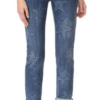 Faded Star Boyfriend Jeans
