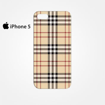 Burberry Pattern for Iphone 4/4S Iphone 5/5S/5C Iphone 6/6S/6S Plus/6 Plus 3D Phone case