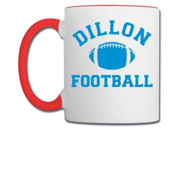 Dillon Panthers Football - Coffee/Tea Mug