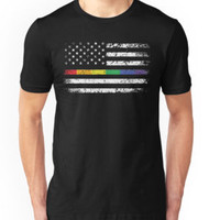 American Flag - LGBT Pride Rainbow Shirts, Gay and Lesbian t-shirt, Funny Gifts by angelshirt