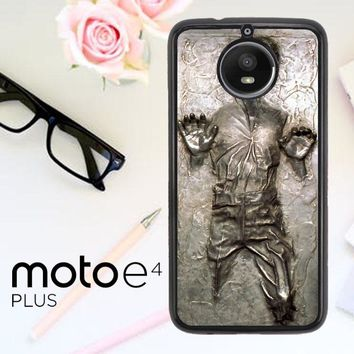 Star Wars Han Solo Frozen In Carbonite L1674 Motorola Moto E4 Plus Case