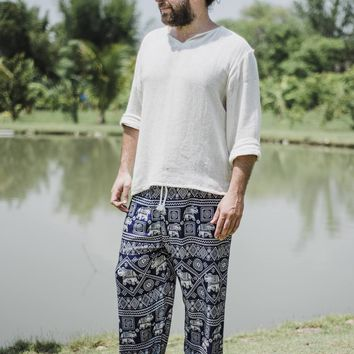 Men's Pants // Men's Clothing // Men's Bohemian // Men's Hippie Pants // Men's Boho // Men's Yoga Pants // Men's Meditation