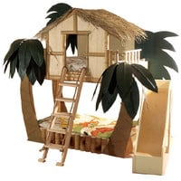 Tropical Surf Shack Bunk Bed : Ultimate Posh at PoshTots
