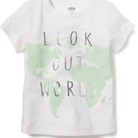 Printed Graphic Tee for Girls