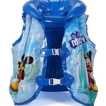 Swimming Pool beach Floating Vest Swimming Circle Pool Accessories Toy Boy Girl Swimsuit Floating Power Sunscreen Swimming Kids Life Jacket 3-6yearsSwimming Pool beach KO_14_1