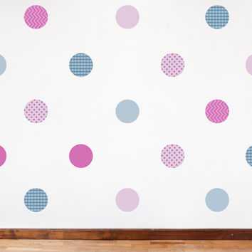 Nursery wall decals - Pattern Dots