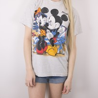 Vintage Mickey Minnie Mouse Florida T Shirt