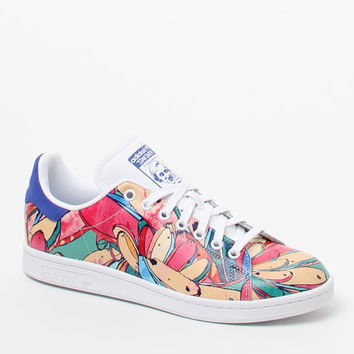 adidas Women's Stan Smith Printed Sneakers at PacSun.com
