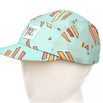Triangle Podium Print 5 Panel Walter Hat