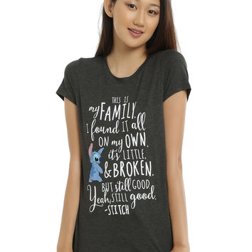 Disney Lilo & Stitch Family Girls T-Shirt