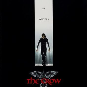 The Crow (UK) 27x40 Movie Poster (1994)