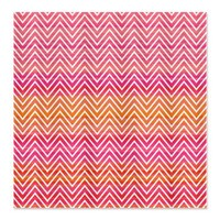 Sunset Pink Orange Chevron Pattern Shower Curtain> Pink and Orange Sunset Chevron> Cierra's Pattern Decor and Gifts