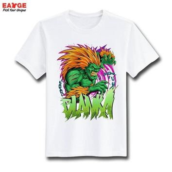 Anime T-shirt graphics [EATGE] Street Fighter Cool T Shirt Fashion Style Brand StreetFighter T-shirt Funny Anime Print Tshirt Design Men Women Top Tee AT_56_4