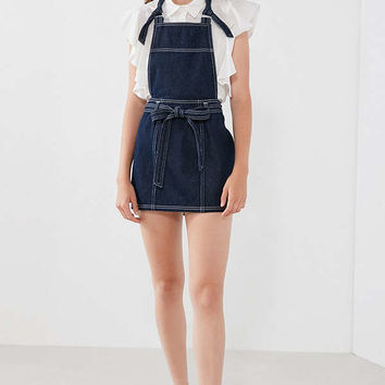 BDG Denim Pinafore Skirtall Overall | Urban Outfitters