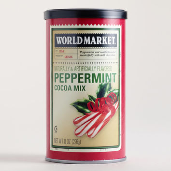 World Market Peppermint Holiday Cocoa, 8 oz.