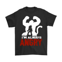 ONETOW Dragon Ball - I'm Always Angry Dragon Ball Shirts