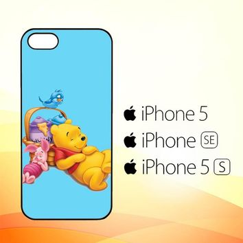 Funny Winnie The Pooh and Piglet Z1060  iPhone 5|5S|SE Case