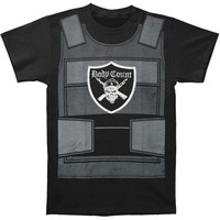 Body Count Men's  Bulletproof Vest T-shirt Black