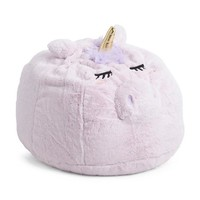 "Large 30"" Plush Unicorn Bean Bag Chair"