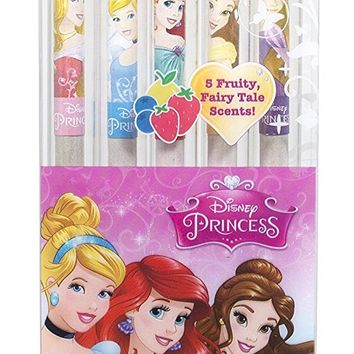 Disney Princess Smencils 5-Pack of Scented Pencils by Scentco