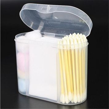 Portable 3 in 1 Soft Cotton Swab Disposable Medical Care Health Beauty Swabs Buds Balls Cosmetic Beauty Makeup Tool