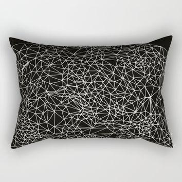 Geo Webbed Rectangular Pillow by DuckyB