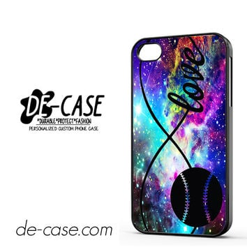 Infinity Love Softball Sports DEAL-5610 Apple Phonecase Cover For Iphone 4 / Iphone 4S