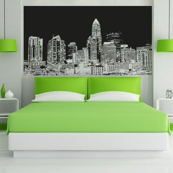Vinyl Wall Decal Sticker North Carolina Buildings #5067