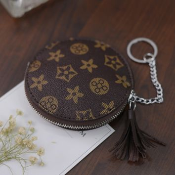 Louis Vuitton Leather Key Pouch Car Key Wallet