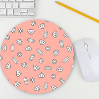Jewelry Mouse Pad / Diamond Mouse Pad / Gemstone / Mouse Pad