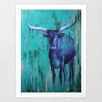 Texas Life Art Print by Sophia Buddenhagen