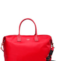 Kate Spade Classic Nylon Lyla Weekender Cherry Liqueur ONE