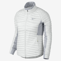 The Nike Aeroloft Poly-Filled Women's Golf Jacket.