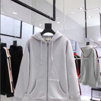 Gucci Grey Zip Up Hoodie 110407